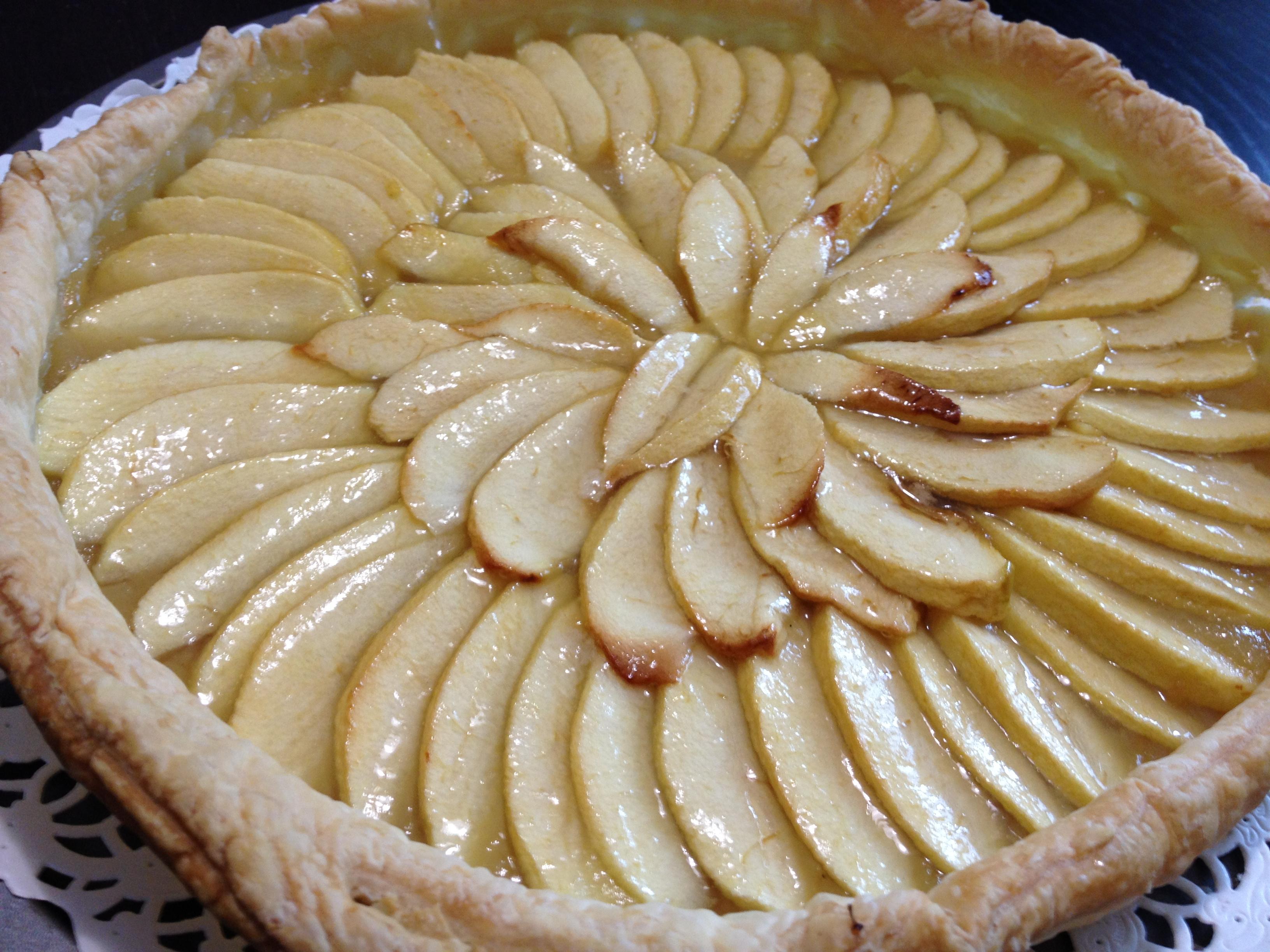 tarte aux pommes pate feuillet c3 a9e marmiton